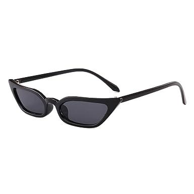 Juleya Petites lunettes de soleil Femmes Vintage Lunettes de soleil Cat Eye UV400 C4 OcOmSZ