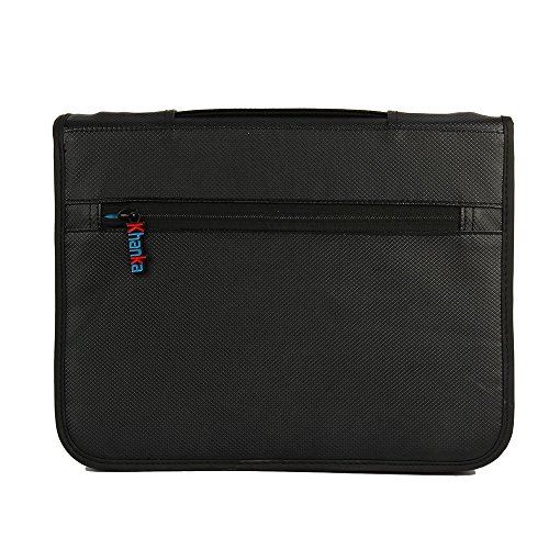 Khanka Universal Electronics Accessories Carrying Travel Organizer / Hard Drive Case Bag / Power Bank / Memory Card / Cable organizer (Medium) by Khanka (Image #4)
