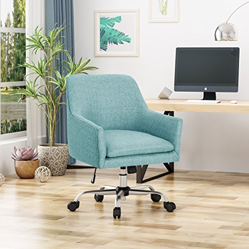 Christopher Knight Home Morgan Home Office Chair, Blue