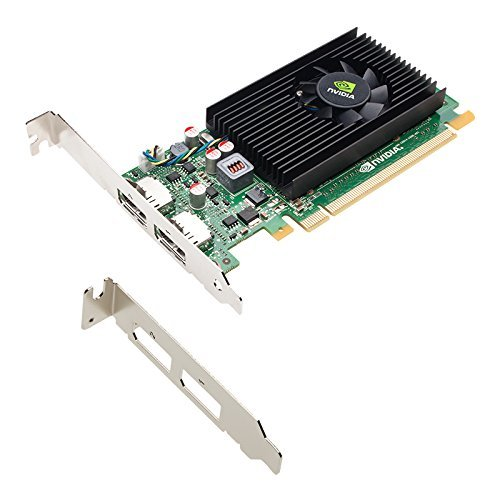 NVIDIA NVS 310 512MB DDR3 PCI Express Gen 2 x16 DisplayPort 1.2 Multi-Display Professional Graphics Board, Low Profile, 1 Year Warranty (Certified Refurbished) by NVIDIA