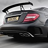 Mercedes-Benz AMG Emblem 3D ABS Black Trunk Logo
