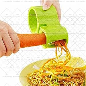 Grater 3-in-1 knife sharpener 2 size holes peeler carrot vegetable Spiral grater fruit & vegetable tool