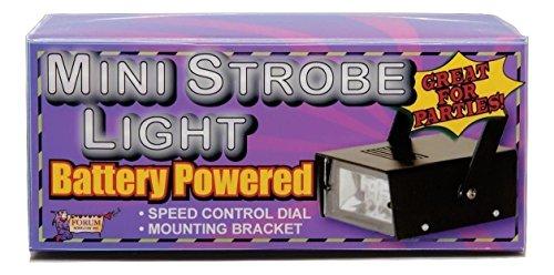 Forum Novelties Mini LED Strobe Light (Best Strobe Light For Party)