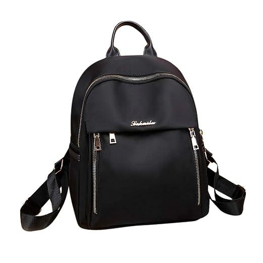 f444132728f7 Amazon.com: Vibola Women Backpack Oxford Cloth Elegant Shoulder Bag ...