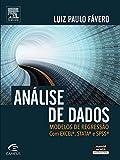 capa de Análise de Dados. Modelos de Regressão com Excel, STATA e SPSS