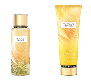 Victoria's Secret Sun Blissed Fragrance Mist and Lotion Set - Pear and  Salty Vanilla