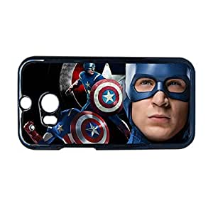 Generic Design With Captain America Hard Phone Case For Kid For Htc One M8 Choose Design 13