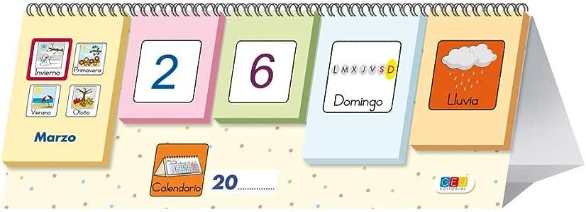 Picto-calendario / Editorial GEU / Recomendado a partir de 3 años ...