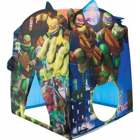 Play Tent For Kids Featuring Nickelodeon Teenage Mutant Ninja Turtles Make Believe  Can Be Connected To Other Playhuts Or Storage Home For Toys