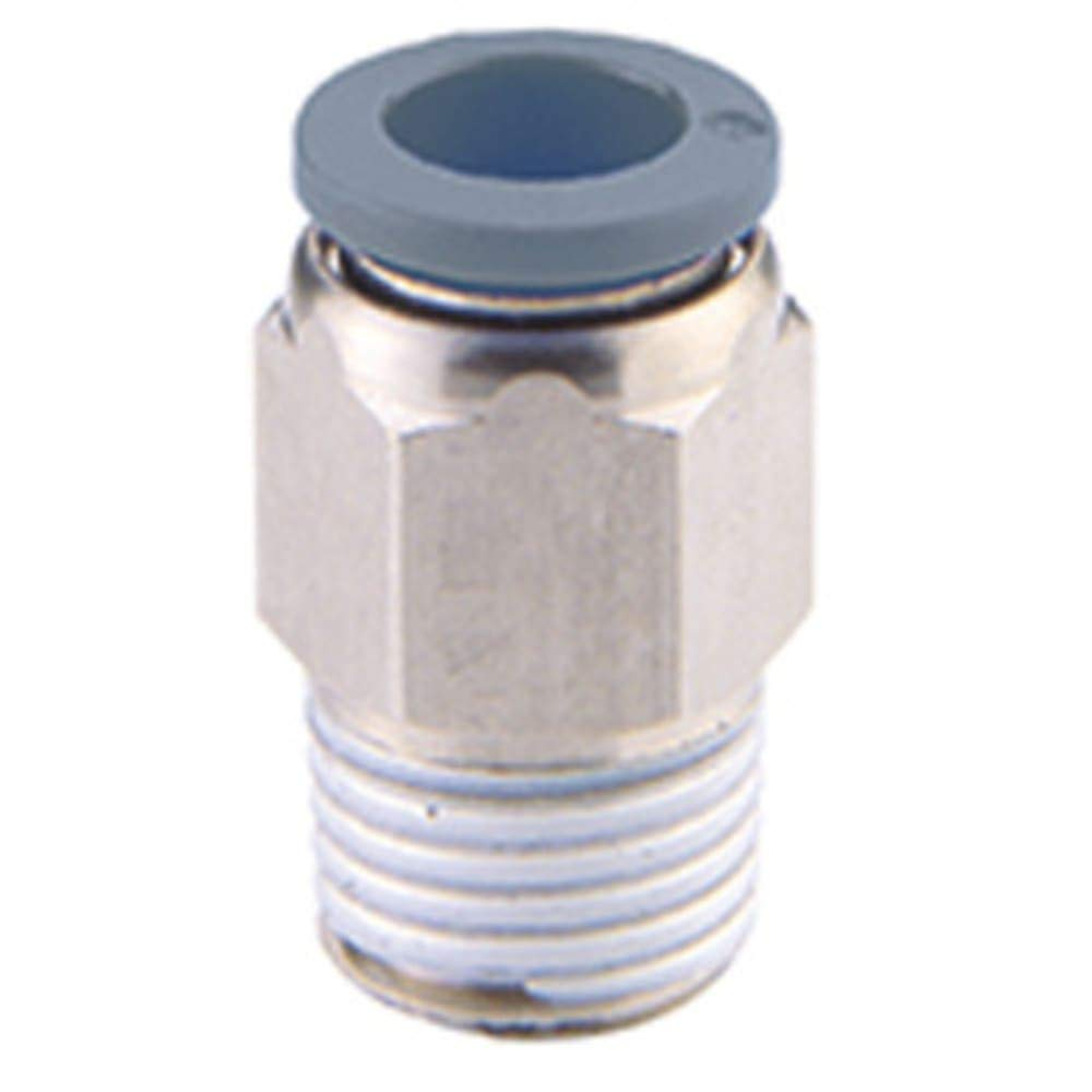 Fitting; Adapter; Straight; 3/8 X 1/4NPT, Pack of 20