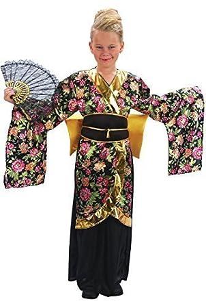 Bristol Novelty CC660 Traje de Geisha, Mediano, Edad aprox 5-7 años, Geisha (M)