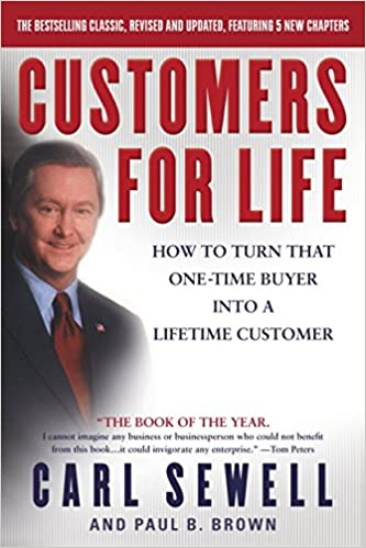 Book Title - Customers for Life: How to Turn That One-Time Buyer Into a Lifetime Customer