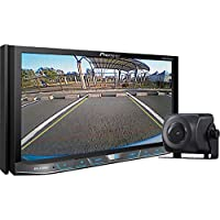 Pioneer 2-DIN Receiver with 7 Motorized Display/Built-In Bluetooth/Siri Eyes Free/AppRadio One/NEX w/ Universal Rear-View Camera