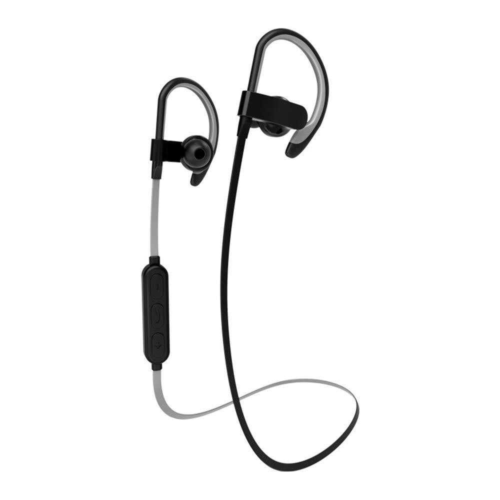Glumes Bluetoothヘッドフォン 磁気吸引ワイヤレスイヤホン ノイズキャンセリングヘッドセット スポーツイヤホン Bluetooth V4.1マイク付き コードレススポーツイヤホン ジム ジョギング トレーニング ランニング用 B07QCY6SWC コーヒー