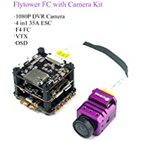 Eachine Stack-X F4 Flytower F4 Flight Controller FPV Camera 1080P DVR NTSC PAL Switchable with VTX OSD 4in1 35A Dshot600 ESC for FPV Drone Quadcopter