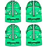 #5: Outus 4 Pack Golf Ball Line Liner Ball Marking Tool Alignment Tool, Green