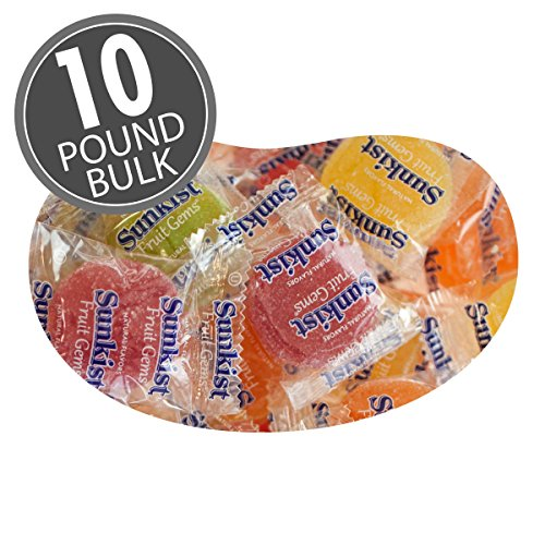 (Sunkist® Fruit Gems (Wrapped) - 10 lbs bulk)