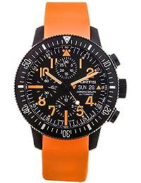 Limited Edition Fortis B-42 Black Mars 500 Automatic Chrono Mens Watch Calendar 638.28.13.SI.19