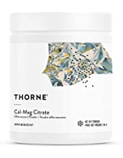 Thorne Research - Cal-Mag Citrate Effervescent Powder - Calcium + Magnesium Supplement w/Vitamin C for Stress Relief - 214 grams