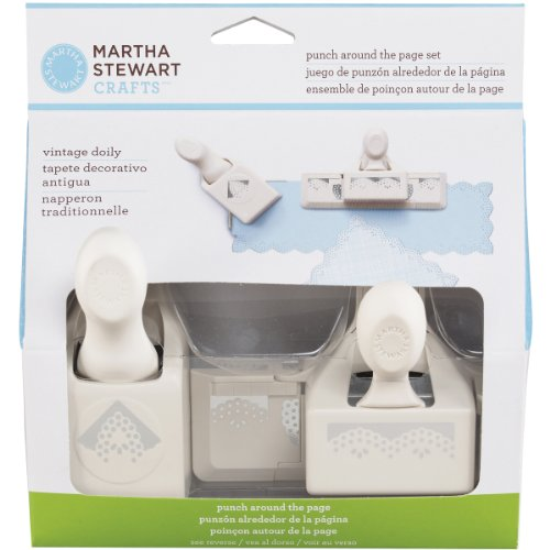 Martha Stewart Crafts Punch Around The Page Set, Vintage Doily
