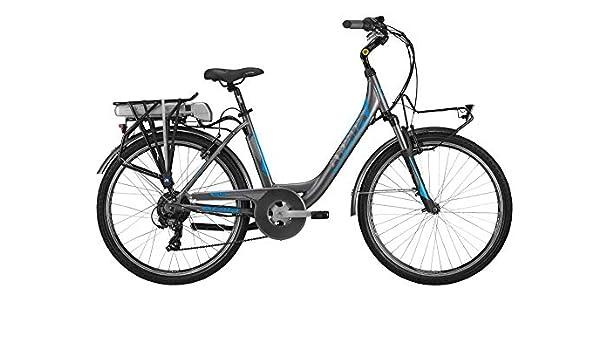 Atala Modelo 2019 - Bicicleta eléctrica E-Run FS 26, 6 velocidades ...