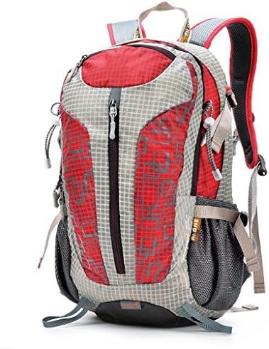 アウトドアリュックサック多機能な登山バッグ男性と女性のスポーツハイキングアウトドア旅行袋25L旅行ショルダーバッグ ( 色 : 赤 )