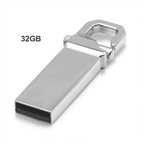 Heaviesk U Disco Flash Drive Llavero USB Pen Drive Unidad de ...