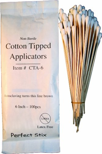 Perfect Stix CTA6 Non Sterile1000 Cotton Tip Applicators Pack of 1000