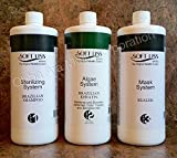 Keratin Brazilian Treatment kit 32oz Soft Liss Algae System (Algas Marinas) Hair Treatment Formaldehyde Free