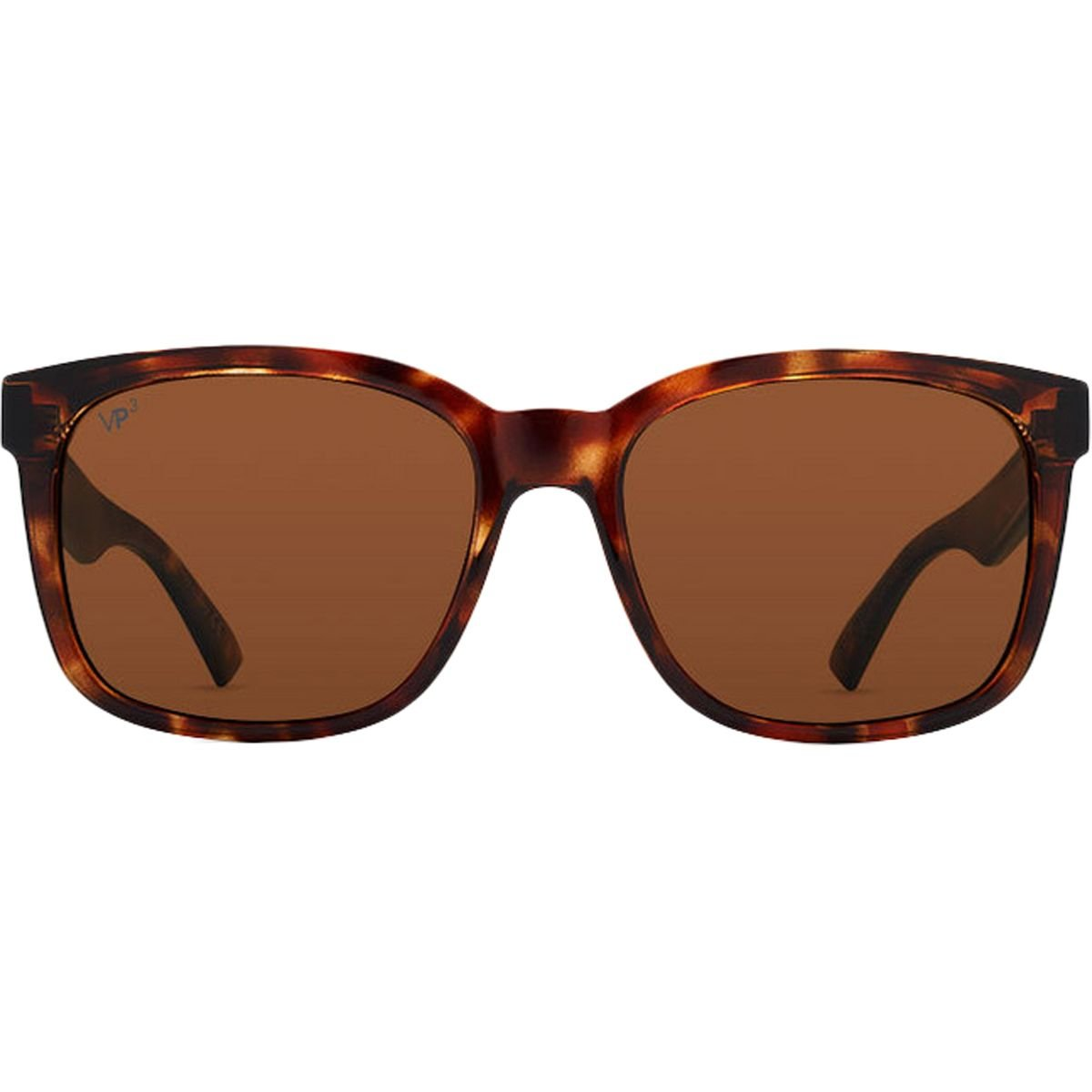 Tabacco Tortoise w//Wildlife Bronze Lens VonZipper Mens Howl Polarized Sunglasses