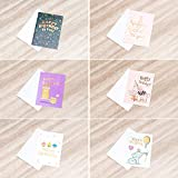 60 All Occasion Greeting Cards - All Rose Gold
