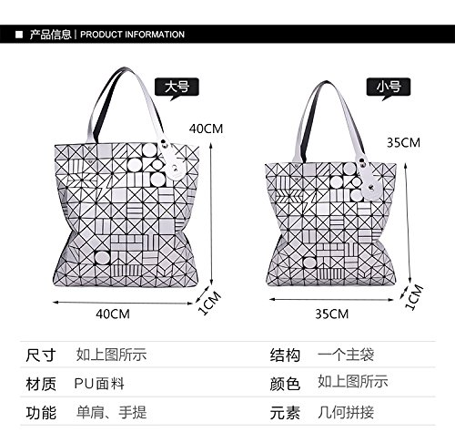 Blue Capacity Tote Women Small Folding Small Shoulder Brown QualityHandbag High BagDesigner Bags zHffw5x
