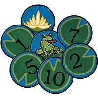 Carpet Kits Printed Hip Hop Number Kids Tile Kids Rug (Set of 12) Rug Size: Round 12