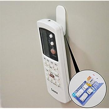 Amazon Com Remote Control Holder Hook 4 Set Wall Mount
