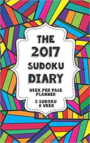 Book The 2017 Sudoku Diary - Week per page