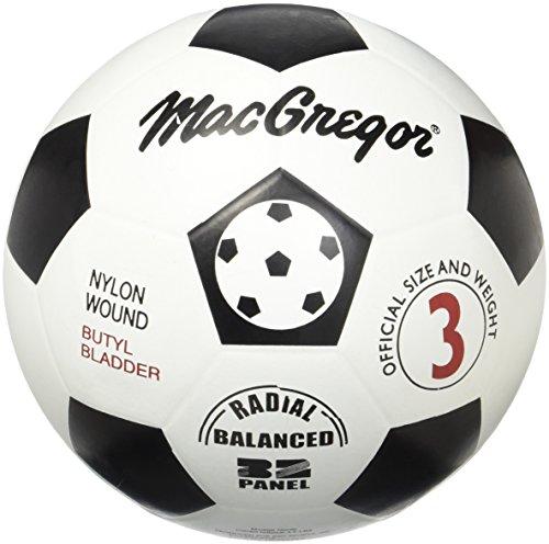 Macgregor Rubber Soccer Ball (Size 3) -