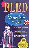 Bled Vocabulaire anglais par Hachette