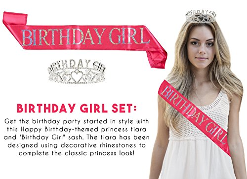 Buy happy birthday tiara