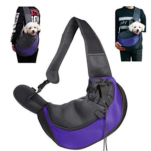 Comprar CHUER Mochilas para Perros Gatos, Transportin para Mascotas Pequeñas, Viajar con Mascotas - Peso hasta (3kg)