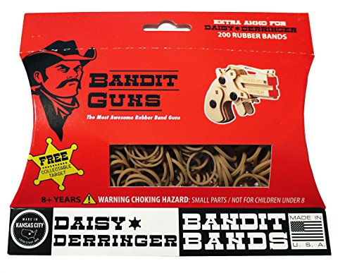 Bandit Guns Daisy Derringer Extra Ammo Craft Kit, Tan