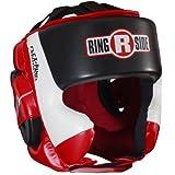 Ringside Ultra Light Sparring Headgear, Red/Black, Medium