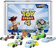 Hot Wheels Disney Pixar Toy Story 4 Character Cars 6 Pack Bundle [Amazon Exclusive] (GJD19)