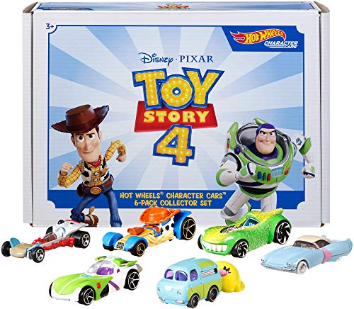 Hot Wheels Toy Story 4 Bundle Vehicles, 6 Pack (Amazon Exclusive) from Hot Wheels