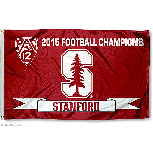 College Flags and Banners Co. Stanford Cardinal 2015 PAC 12 Champs Flag Cardinals Ncaa Logo Tailgate