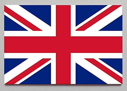 Flag of United Kingdom fridge magnet (2 x 3 inches for refrigerator or locker) by Magical Magnets (United Kingdom Magnet compare prices)