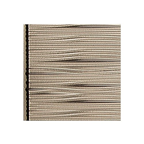 Fasade Waves Horizontal Brushed Nickel Decorative Wall Panel - Fast and Easy Installation (12