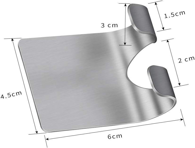 Luckyiren Towel & Razor Holder Self-Adhesive Hooks