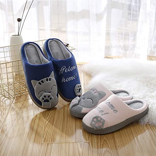 skid Anti Di Animali Soft Cotone Cotone 42——43 Plush Ytdoo Shoes Inverno  Panno Pantofole Caldo ... 63abeb8cd14