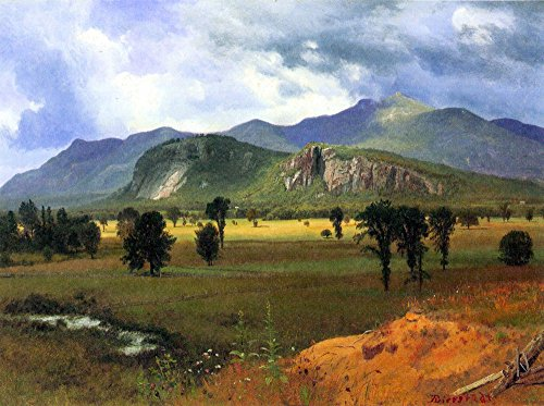 The Museum Outlet - Moat Mountain, Intervale, New Hampshire by Bierstadt - Poster Print Online Buy (40 X 50 - Outlet Shopping Hampshire