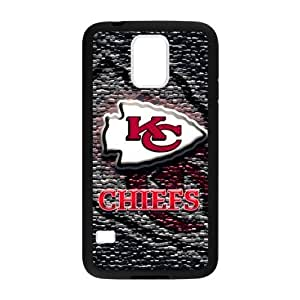 Hoomin Coolest Kansas City Chiefs Design Samsung Galaxy S5 Cell Phone Cases Cover Popular Gifts(Laster Technology)